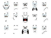 expresiones Imagen de archivo