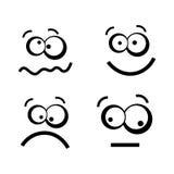 Expresiones ilustración del vector