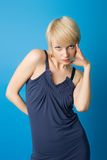 Expresiones de Blondie Imagen de archivo