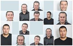 Expresiones Faciales imagen de archivo