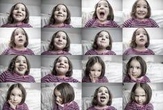 Expresions общего детей Стоковое Фото