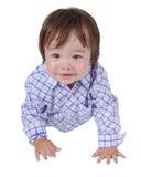 Expressão 16 da criança Foto de Stock Royalty Free