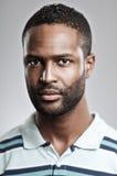 Expressão afro-americano da placa do homem Foto de Stock