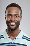 Expressão afro-americano da placa do homem Foto de Stock Royalty Free