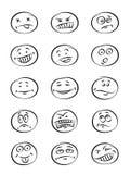 Expressão da face ilustração royalty free