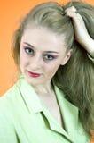 Expressão da mulher Imagem de Stock Royalty Free