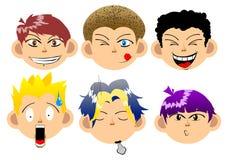 Expressão das crianças Ilustração Stock