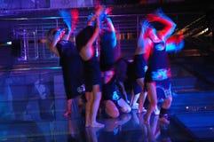 Expressão de uma dança Imagens de Stock Royalty Free