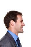 Expressão do homem de negócios Fotografia de Stock Royalty Free