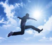 Expressão do sucesso e da liberdade Foto de Stock