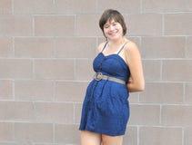 Expressão fêmea da beleza fora Foto de Stock Royalty Free