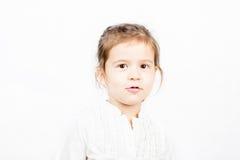 Expressão facial emocional da menina - felicidade Imagem de Stock