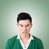 Expressão facial engraçada fotos de stock