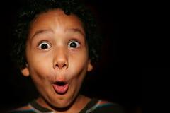 Expressão surpreendida Fotos de Stock Royalty Free