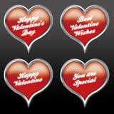 Expressões 05 do amor Foto de Stock Royalty Free