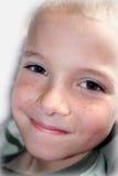Expressões 10 do menino Fotos de Stock