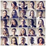 Expressões Foto de Stock Royalty Free