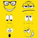 Expressões Imagens de Stock Royalty Free