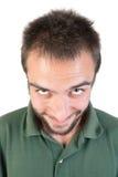 Expressões do homem novo Imagens de Stock Royalty Free