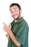 Expressões do homem novo Imagem de Stock Royalty Free