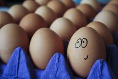Expressões do ovo foto de stock royalty free