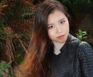 Expressões fêmeas asiáticas da beleza imagem de stock royalty free