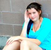 Expressões fêmeas da beleza Foto de Stock Royalty Free