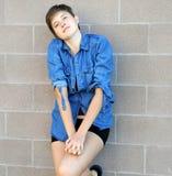 Expressões fêmeas da beleza fotografia de stock royalty free