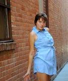 Expressões fêmeas 'sexy' da beleza imagem de stock royalty free