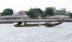 Express boat Bangkok. Chao Phraya Express boat in Chao Phraya river, Bangkok, Thailand Stock Photography