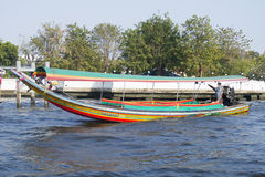 Express boat in bangkok Royalty Free Stock Photo
