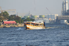 Express boat in bangkok Royalty Free Stock Photography
