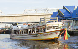 Express boat in bangkok Stock Photography
