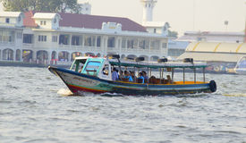 Express boat in chao phraya river bangkok Stock Photography