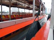Express boat at Chao Phraya river. Stock Image