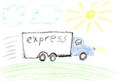 Express delivery Stock Images