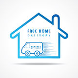 Express Delivery concept for increase the sell Stock Photo