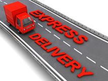Express delivery Royalty Free Stock Photo