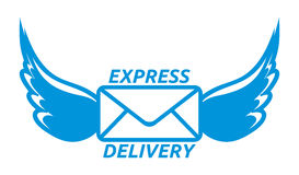 Express delivery  icon Stock Photography