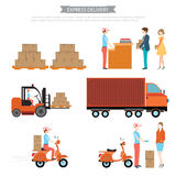 Express delivery. Stock Photos