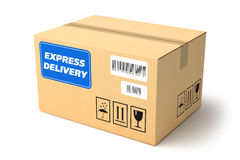 Express delivery package Stock Images