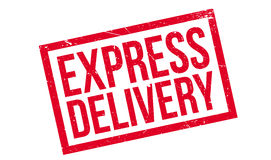 Express Delivery rubber stamp Stock Image