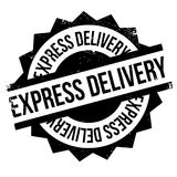 Express Delivery rubber stamp Royalty Free Stock Photos