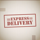 Express delivery stamp Stock Photos