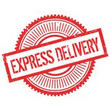 Express delivery stamp Royalty Free Stock Photo