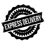Express delivery stamp Stock Photo