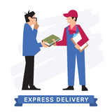 Express Delivery Symbols, Vector icon. Royalty Free Stock Photography