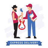 Express Delivery Symbols, Vector icon. Stock Photography