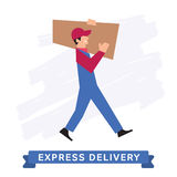 Express Delivery Symbols, Vector icon. Stock Images