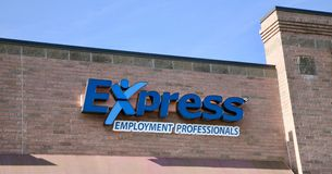 Express Employment Professionals. One of the top staffing companies in North America, Express Employment Professionals can help you find a job with a top local Royalty Free Stock Photos